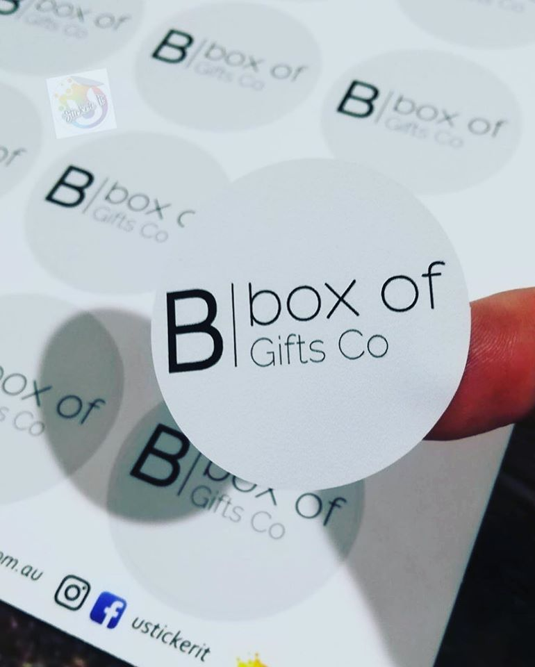 Box of Gifts Co - Circle Sticker